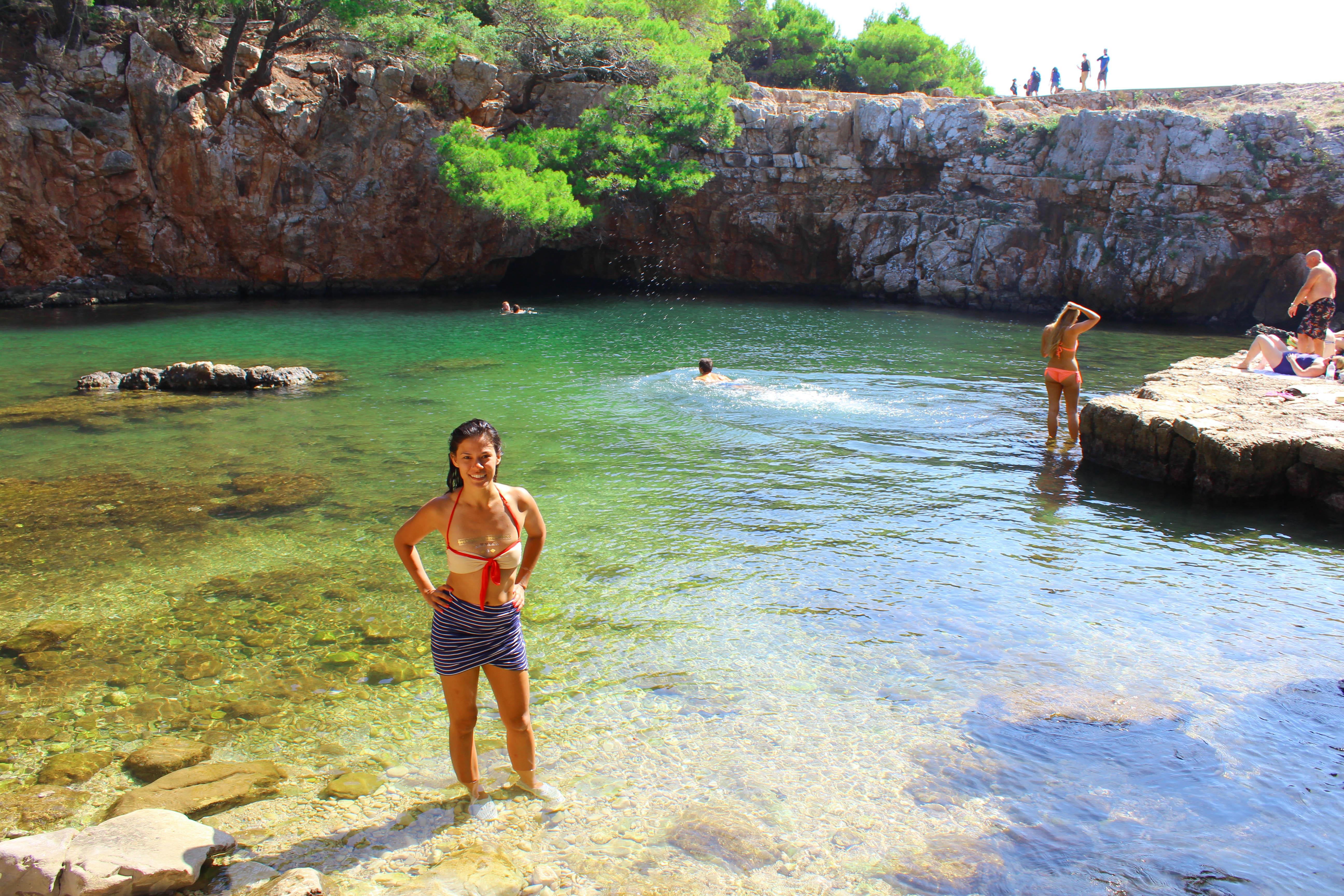 Dead Sea Swimming Hole on Lokrum