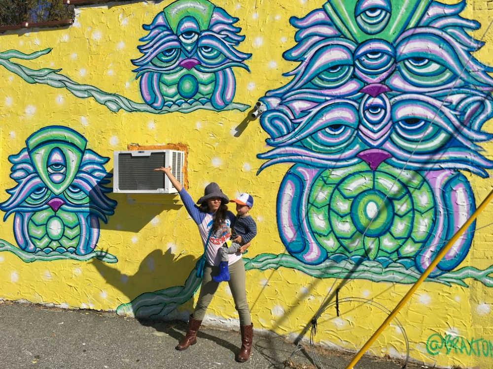 West Asheville Wall Mural