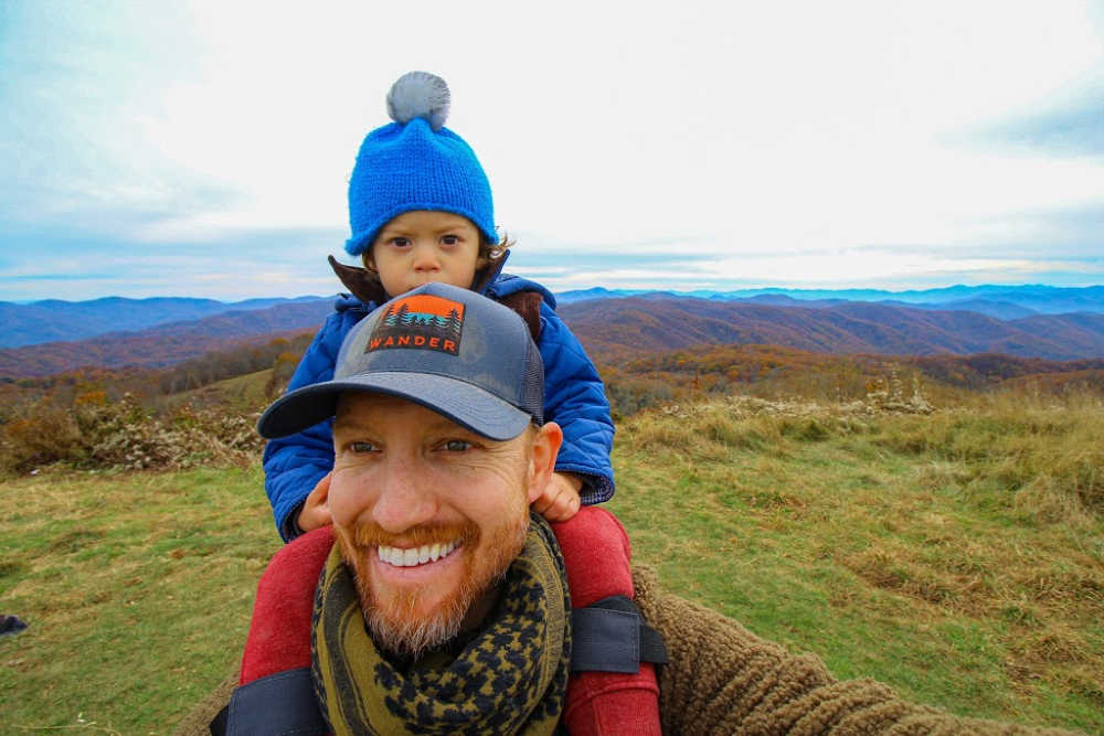 Hiking Max Patch Loop With Toddler