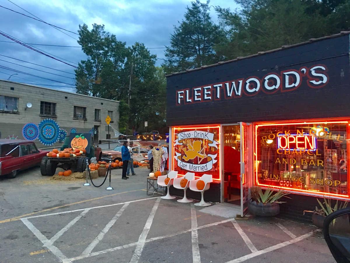 Fleetwoods in West Asheville