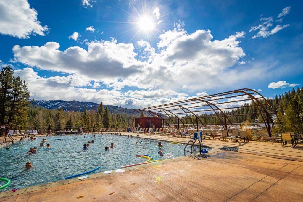 Hot Springs Pool in Boise