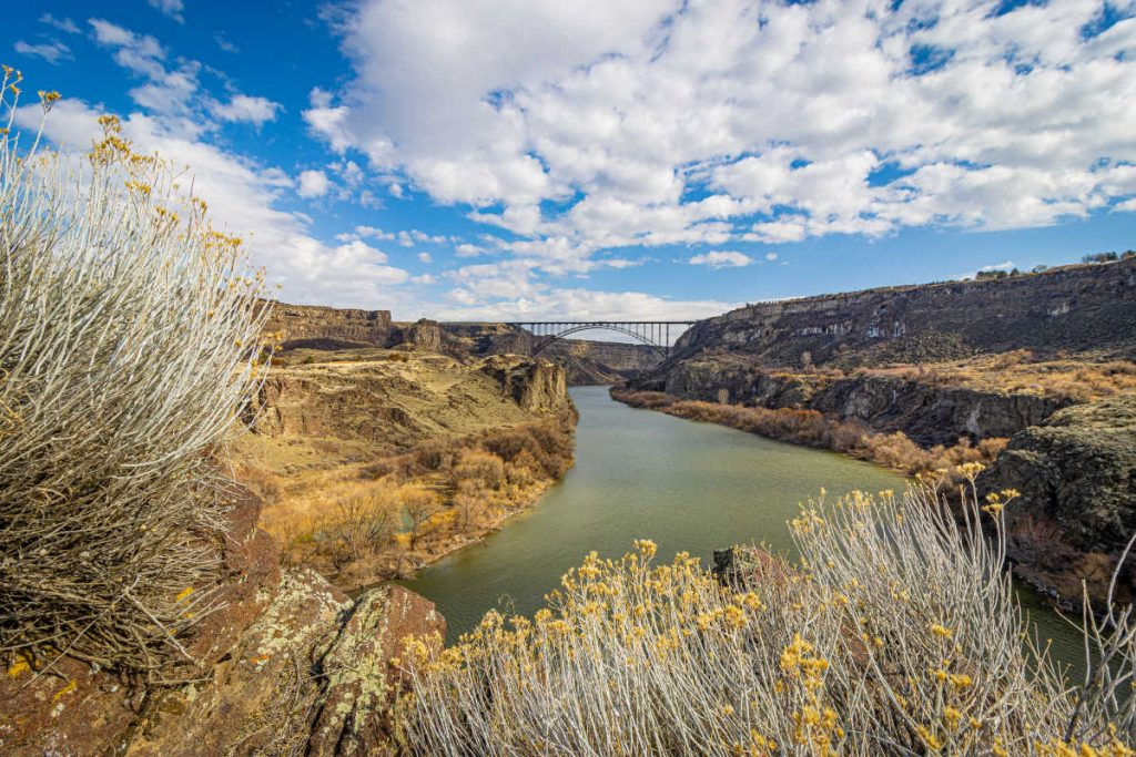 Perrine Bridge in Twin Falls Idaho