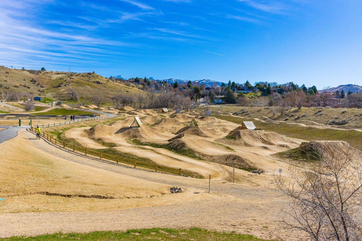 Bike Park Hills in Boise Idaho