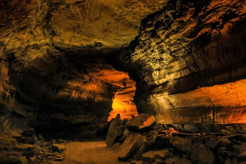 Cave in Mammoth Caves National Park