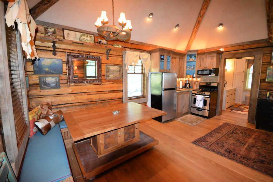 rustic studio cabin