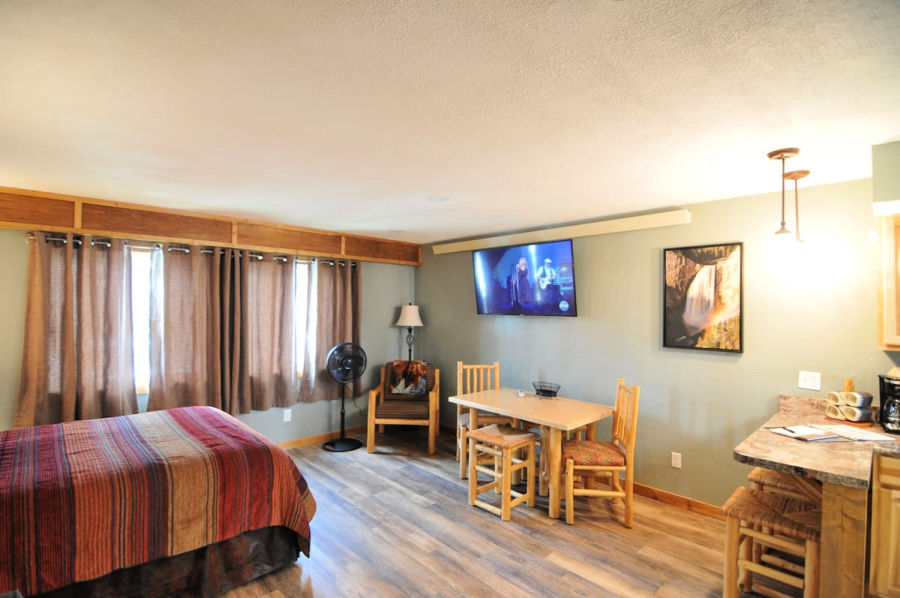 studio apartment near Yellowstone National Park